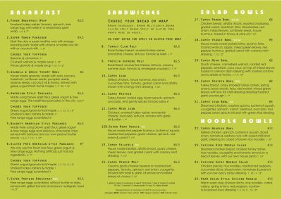 Pureraw Eatery New Menu Launched